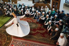 Sufi festival Shebi Arus celebrated in Kacuni, Bosnia. December 17, 2015. Sufism, according to its adherents, is the inner mystical dimension of Islam.