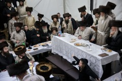 January 12, 2019 - Hundreds of Jewish pilgrims have arrived to celebrate yahrzeit (anniversary of the death) of Tzadik David Biderman to the small Polish