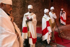 the annual Christmas pilgrimage to Lalibela, Ethiopia - January 6, 2014