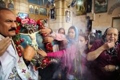 Coptic Easter celebrations in Cairo, Egypt - April 10, 2015