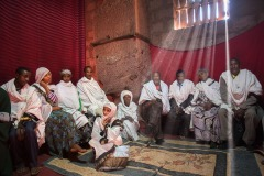 the annual Christmas pilgrimage to Lalibela, Ethiopia - January 4, 2014