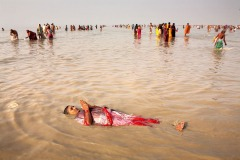 Ganga Sagar pilgrimage in India - January 15, 2009