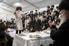 January 12, 2019 - Hundreds of Jewish pilgrims have arrived to celebrate yahrzeit (anniversary of the death) of Tzadik David Biderman to the small Polish town of Lelow